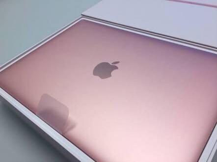 MacBook 12 inch retina 256GB rose pink!