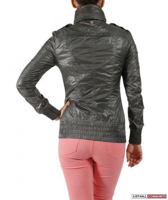 Mackage Perla Packable Rain Jacket - Black (Medium / M)