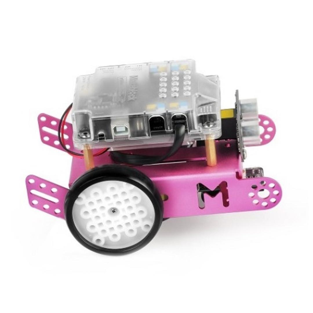 Makeblock, mBot v1.1 - Pink/2.4G (30 Days Warranty)