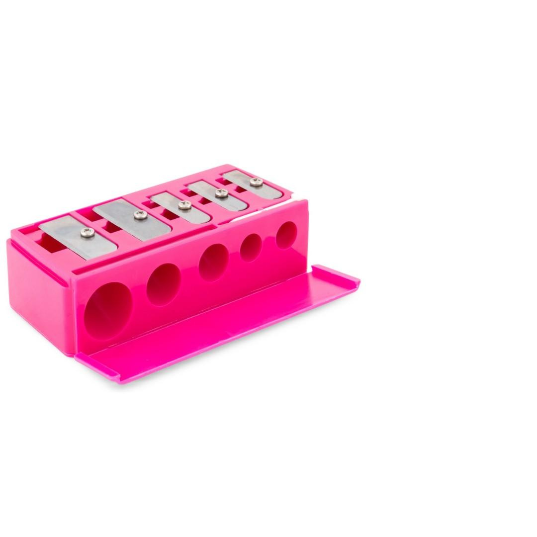 Makeup Sharpener 5-Multi Sized in Pink BRAND NEW [PRICE IS FIRM]