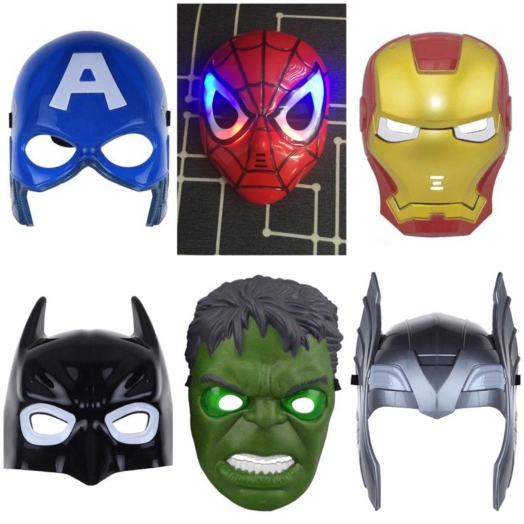 Boys Superhero Pajamas Sets Captain America Spider-Man Thor Hulk Ironman Outfits