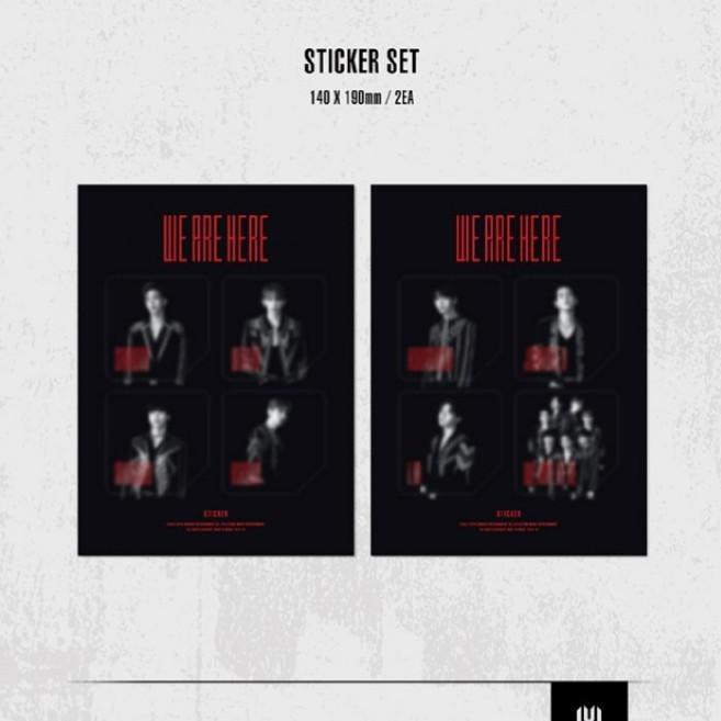 LOOSE ITEMS [MONSTA X WORLD TOUR WE ARE HERE KIT VIDEO/KIHNO VER]