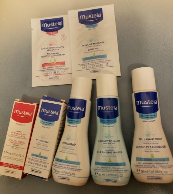 Mustela baby lotion & cleaning