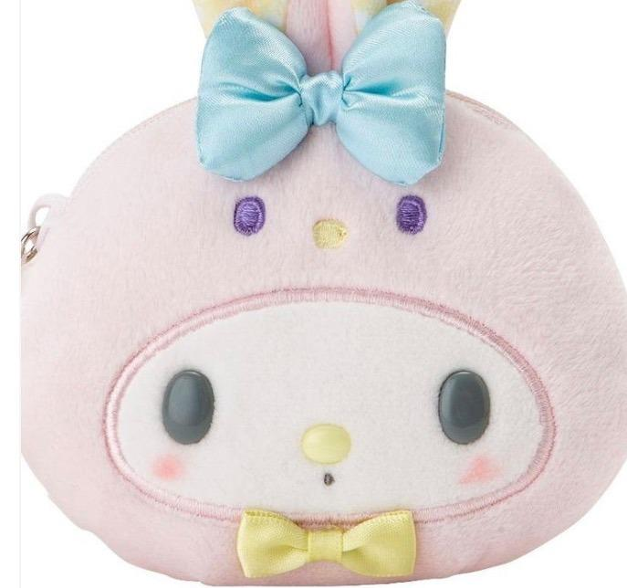My Melody Face Shaped Pouch Rabbit Sanrio 2019 Kawaii Cute