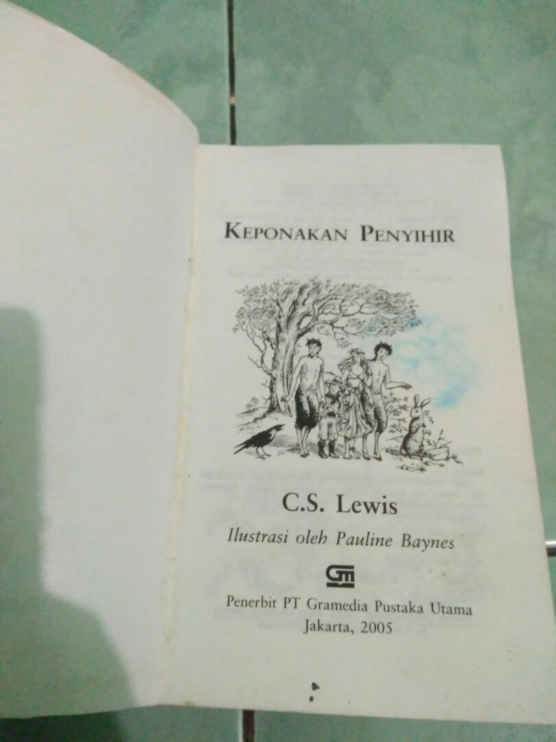 Narnia Chronicles by CS Lewis