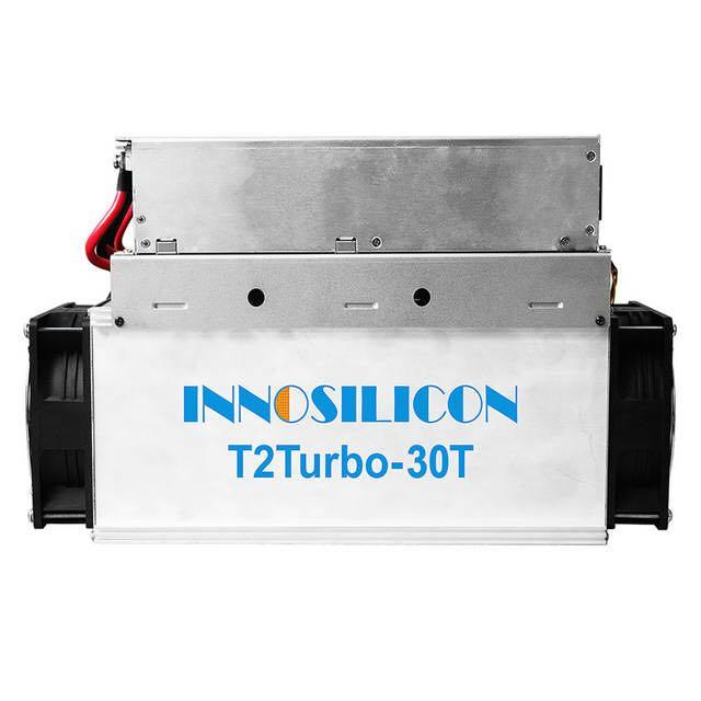 New Innosilicon T2T 30TH/s 2200W with Original PSU ASIC Miner BTC Better Than WhatsMiner M3 Antminer S9 S11 S15 S17 T9+ T17