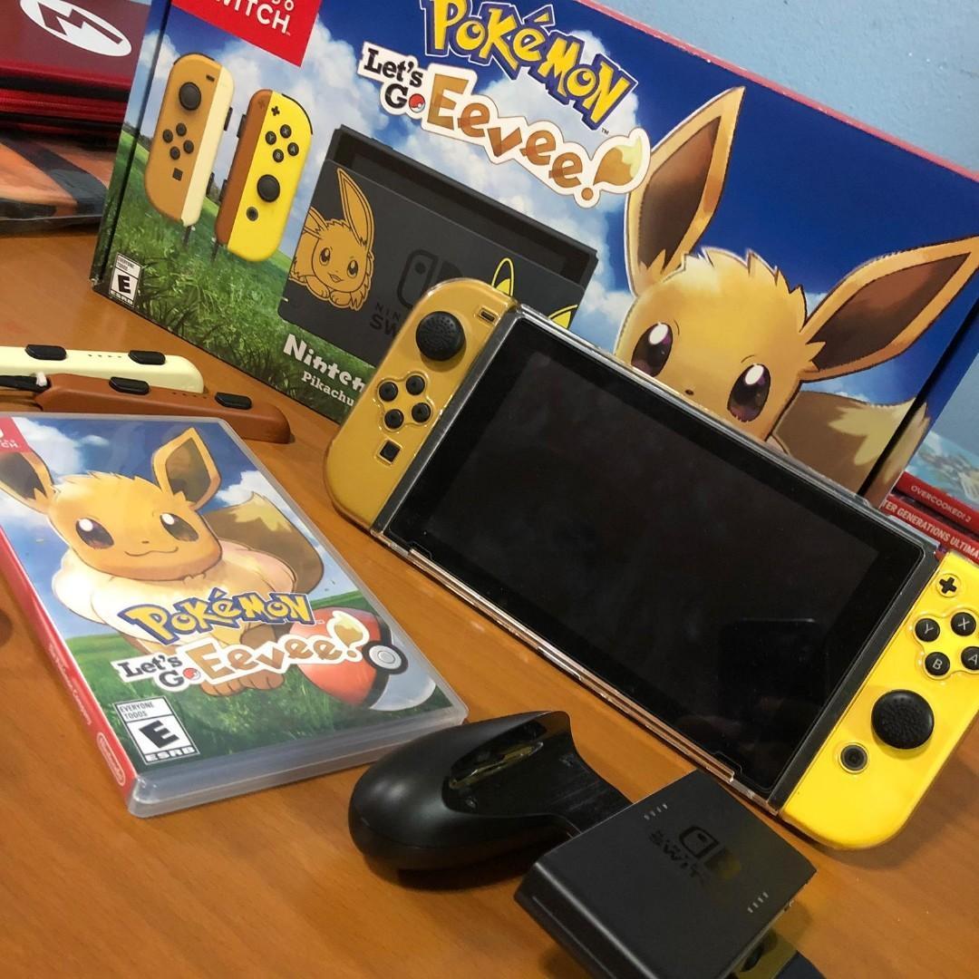 Nintendo Switch Pokemon Eevee