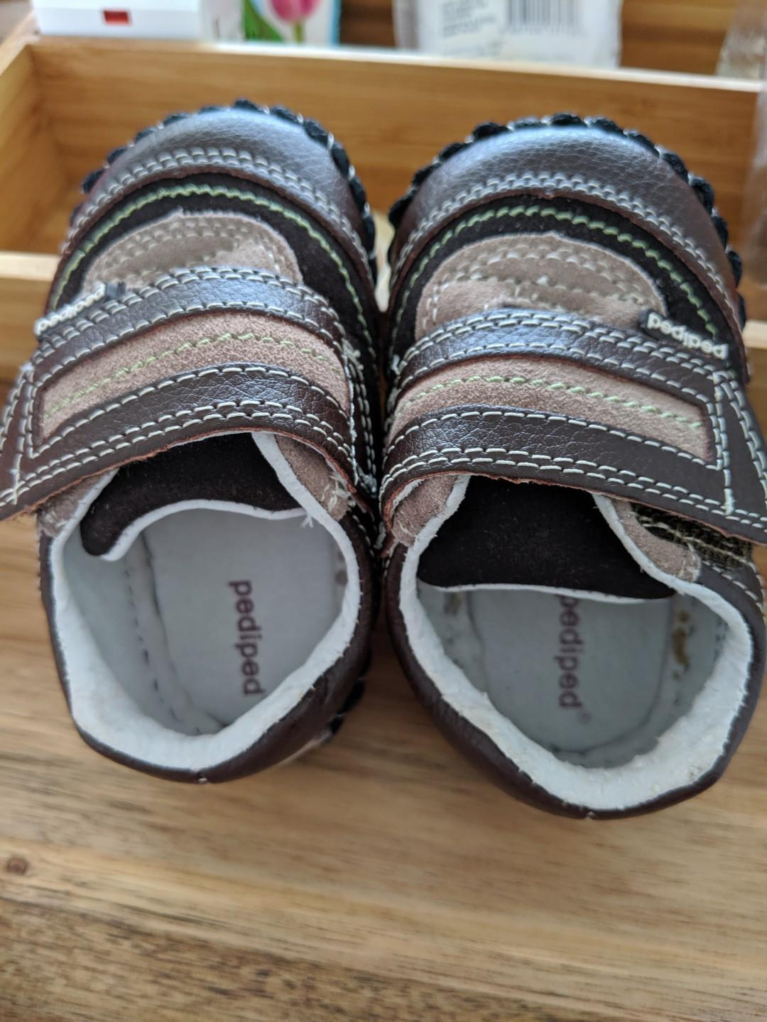 Pediped baby boy shoes for 6-12mth old