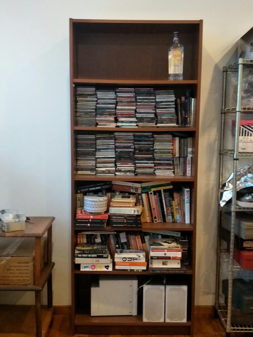 Ikea Billy Book Shelf In Dark Brown Great Buy 40