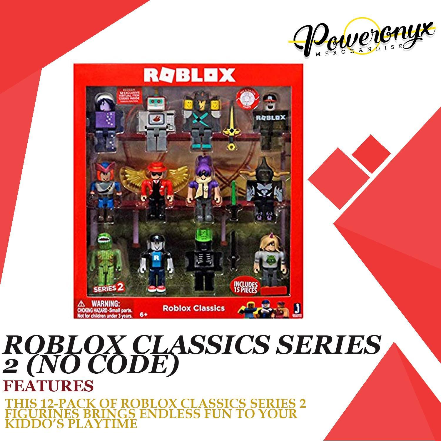 Roblox Classics Series 2 12 Pack Roblox Classic Series 2 No Code Toys Games Toys On Carousell