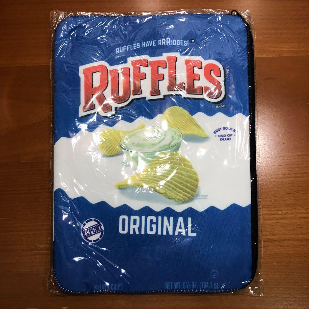 Ruffles and Lays Laptop Sleeve Case Pouch