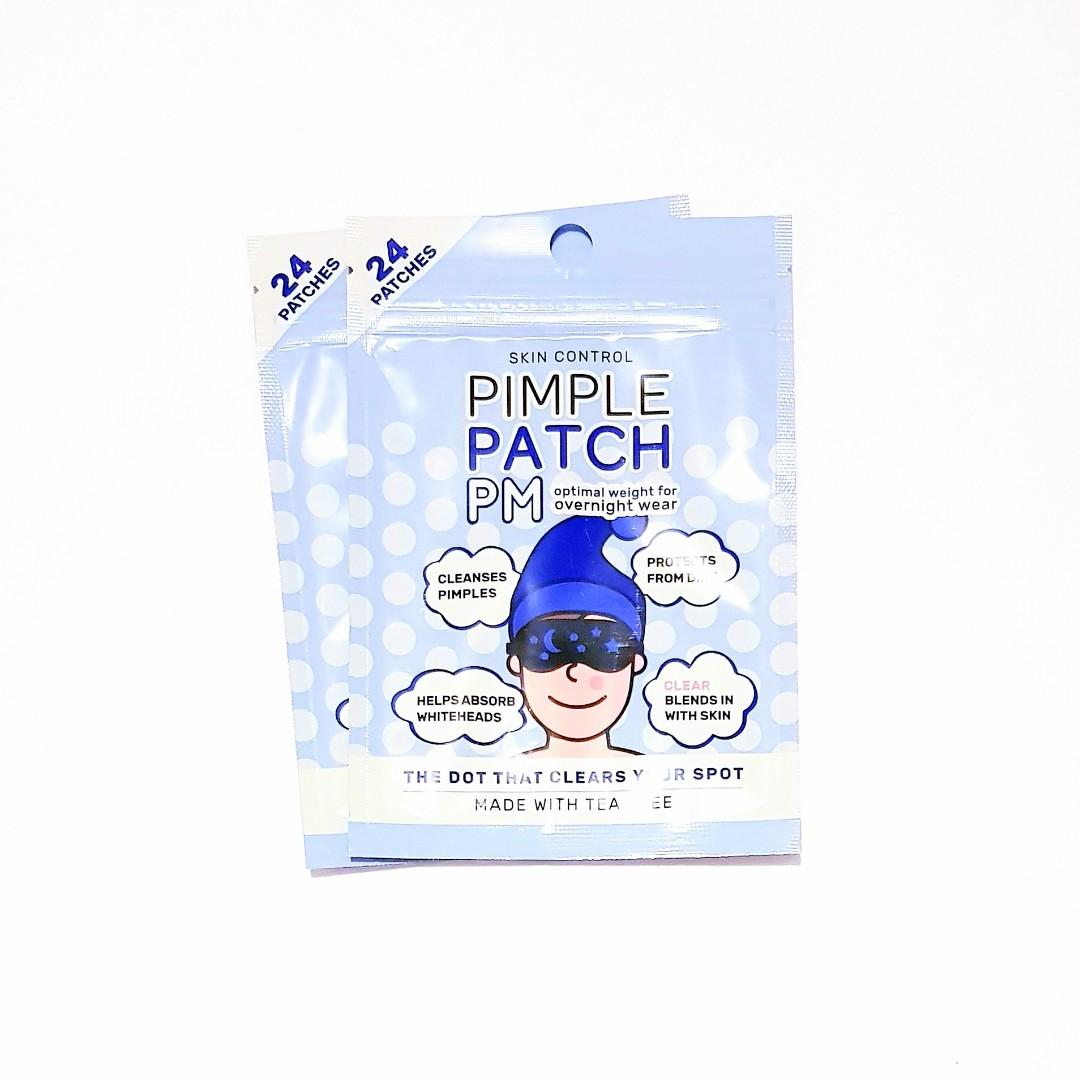 Skin Control Overnight Wear Pimple PM 24 Pack Patches With Tea Tree Oil