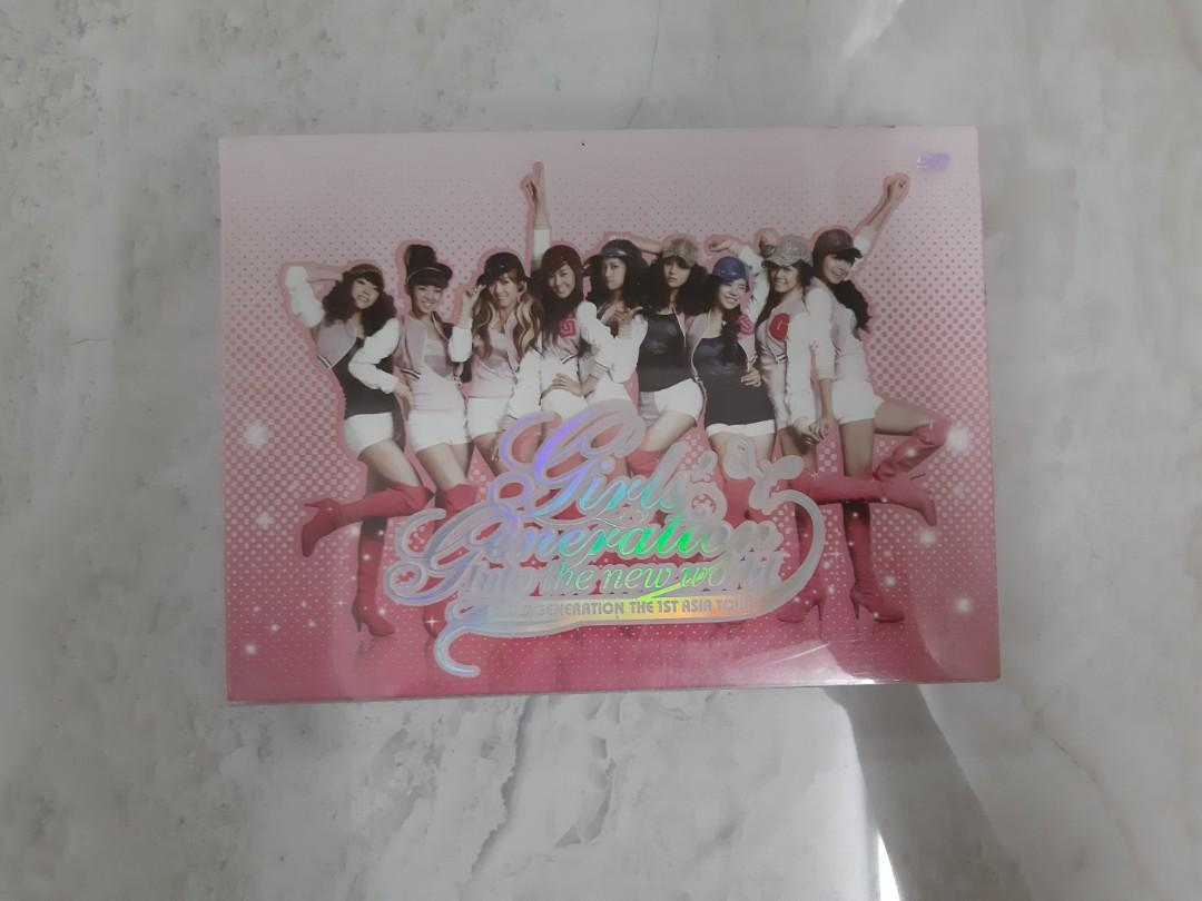 SNSD GIRLS' GENERATION THE 1ST ASIA TOUR INTO THE NEW WORLD CONCERT DVD