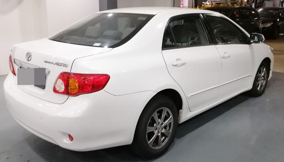 Toyota Corolla Altis for rent!