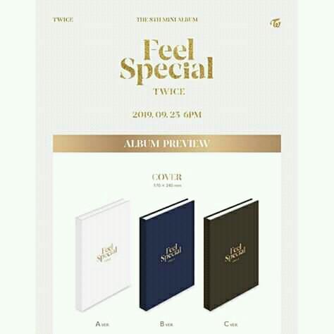 TWICE Mini Album Vol.8 [Feel Special] (Random Ver.)