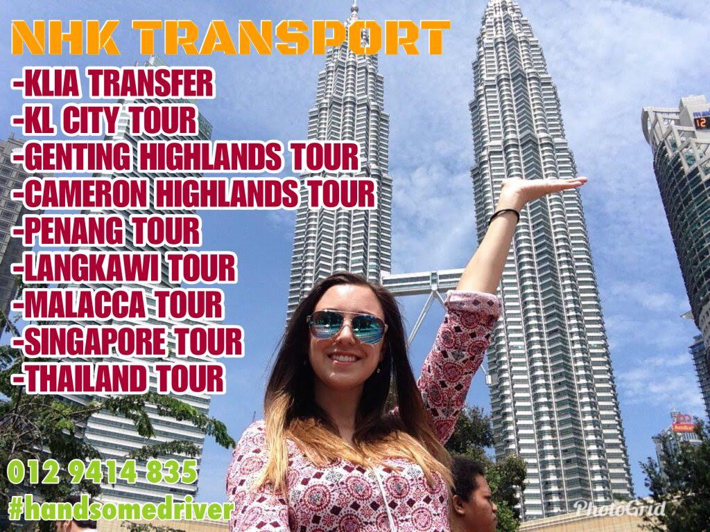 van persiaran / van sewa / van rental / airport van / shuttle van / van and driver
