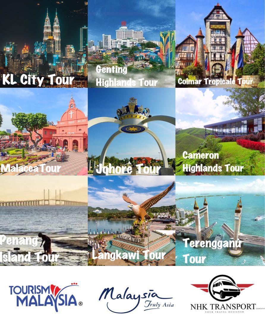 van with driver / van rental / airport van / klvan / klia van / city tour