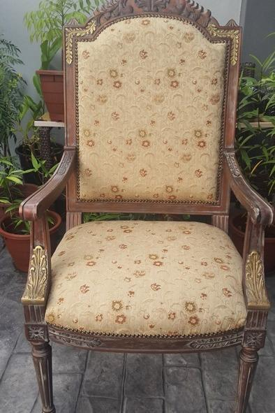 Vintage Antique Armchair 1