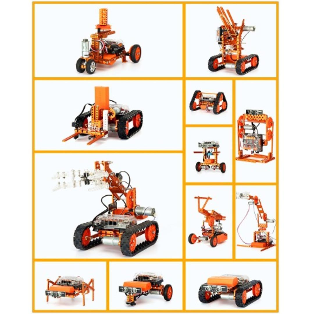 Weeemake, 12-in-1, WeeeBot RobotStorm Construction Kit (90 Days Warranty)