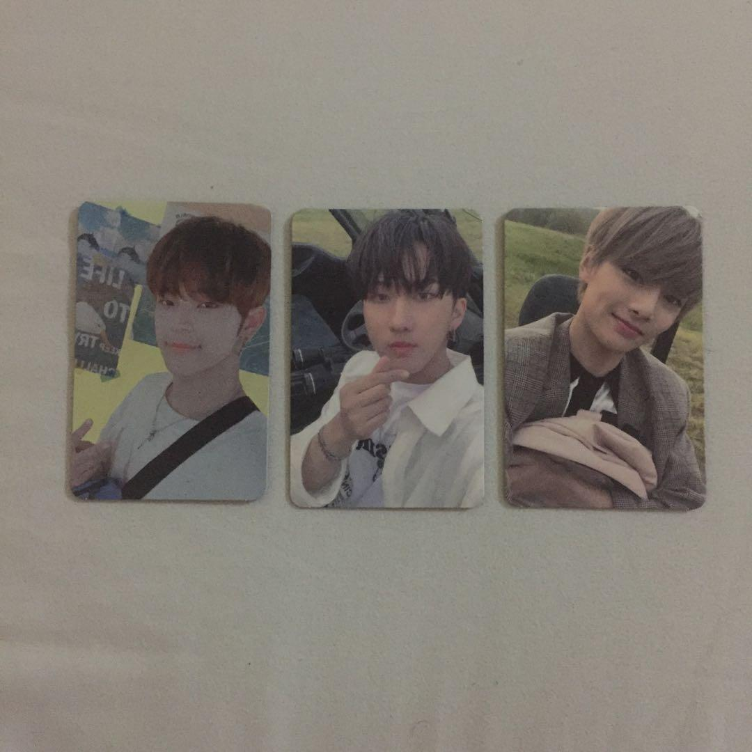 [WTS/WTT] Stray Kids - Clé 2: Yellow Wood Outdoor Photocards
