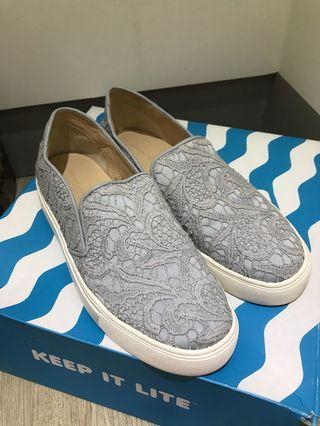 蕾絲樂福鞋