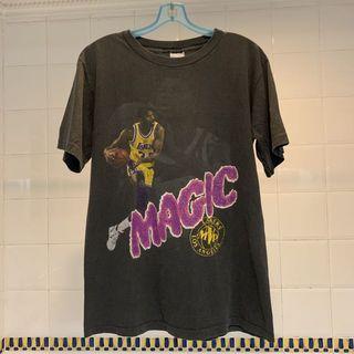 "Vintage Magic Johnson ""MVP"" Los Angeles Lakers T-Shirt"