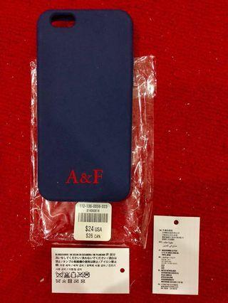 A&F iphone 6 casing (Navy)