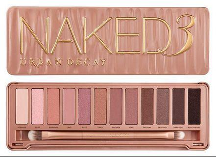 BN Urban Decay Naked 3 Eyeshadow Palette