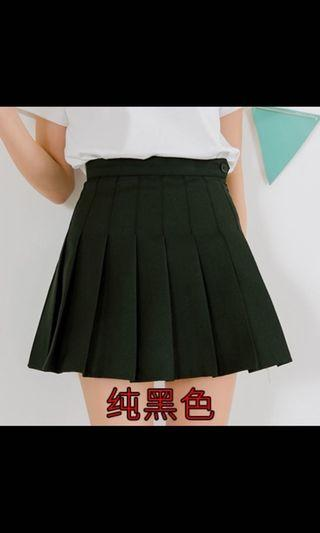 ezbuy shopee Black Tennis Skirt