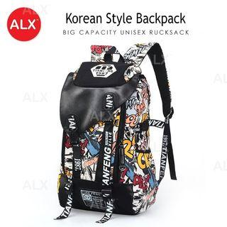Korean style travel bagpack