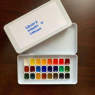 Winsor & Newton cotman 24 colours 0.6ml