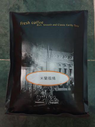 100%新鮮烘焙咖啡豆