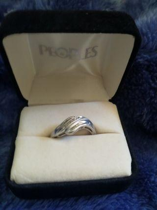 Silver People's ring