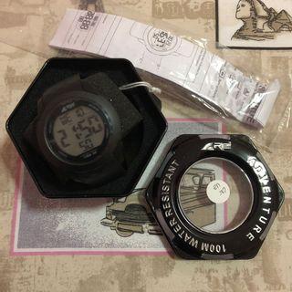Rei Vertical Watch 17727 - Black