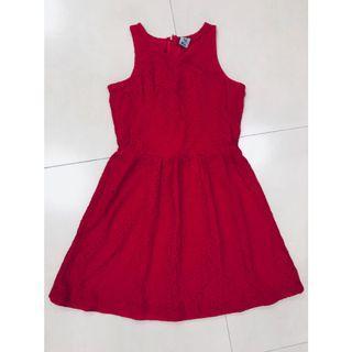 PDI red dress