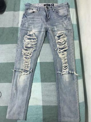 Gucci牛仔褲