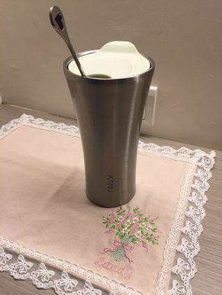 韓國歐爸代言的  KAWU 咖啡杯 一組