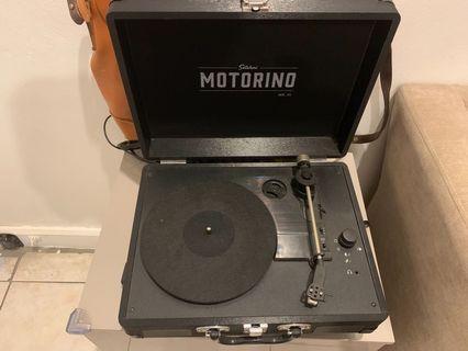Satchmi Motorino Mk III turntable