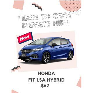 [ Brand New ] HONDA FIT 1.5A HYBRID * Lease To Own *