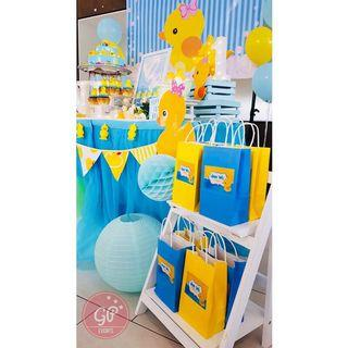 Rubber Duckie Paper Gift Bag