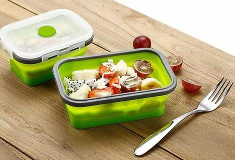 (Large) Foldable Lunch Box / Collapsible Lunch Box