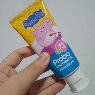 快潔適~博寶兒兒童牙膏 (葡萄口味) 佩佩豬