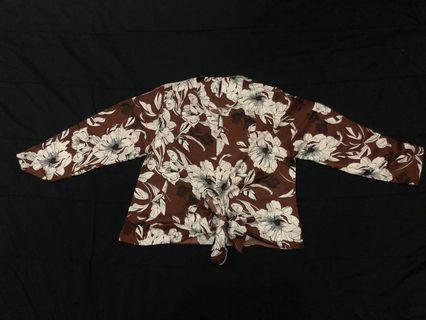 baju brown cewek