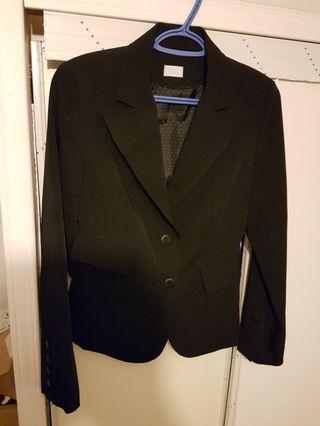 Ladies black blazer