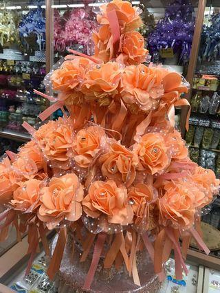 Bunga Telur peach Colour - On Promo