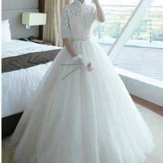 Preloved Wedding Gown - RM280