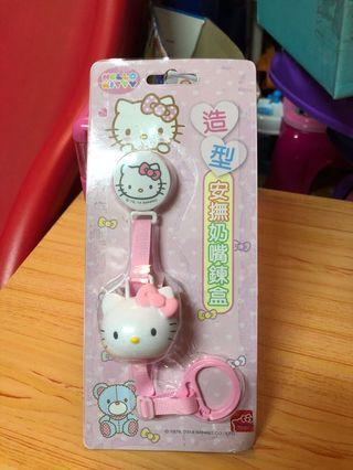 Hello Kitty 奶嘴鍊 $80/個