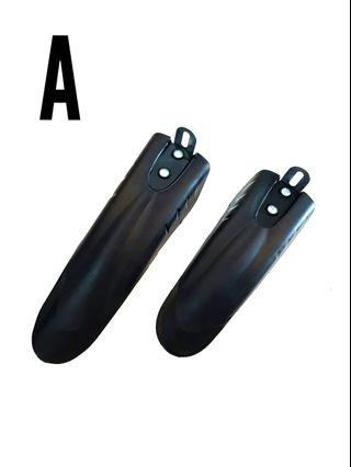 ***In Stock - Fenders Plastic 12 inch-14 inch Wheel Bicycle Escooter 2 Designs A or B ..1 Pair Price