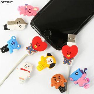 Po- BT21 Protective Charging Cable Bite Holder