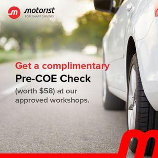Not sure if your car is worth renewing? Get A FREE Workshop Inspection ( Worth $58) from us today!